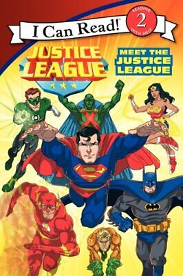 Justice League: Meet the Justice League (I Can Read! Reading w... by Rosen, Lucy