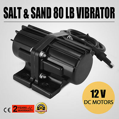 80LB Salt & Sand Vibrator Motor 80 LB Spreader Kit  Anti-vibration  Meyers