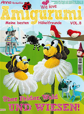 Anna Amigurumi Vol 1 : Anna kreativ We love Amigurumi Vol. 8 Reh Biene Spinne ...