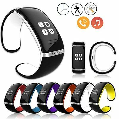 Men's Women's Smart Bracelet Bluetooth Watch Sports for Android IOS Phone iPhone
