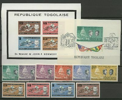Kennedy, Lincoln - Togo - ** MNH
