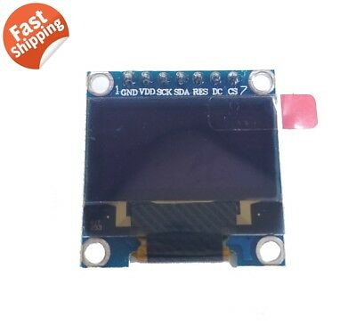 """HQ 0.96"""" 128*64 OLED Graphic Display Module SPI LCD - Color White SSD1306"""