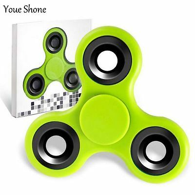 2017 New EDC Tri-Spinner Fidget Toy Plastic Hand Spinner For Autism and ADHD Han