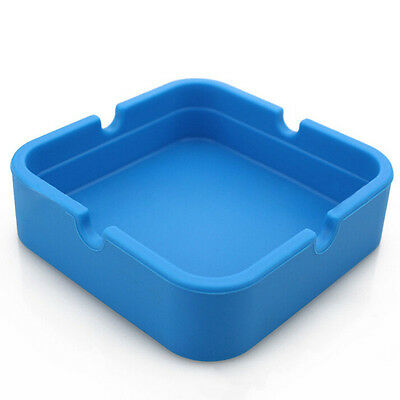 Silicone Ashtray Dishwasher Safe Glass Safe Holds Rolling Papers