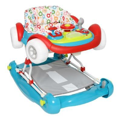 My Child Coupe Walker/Rocker (Multi) With Musical Play Tray