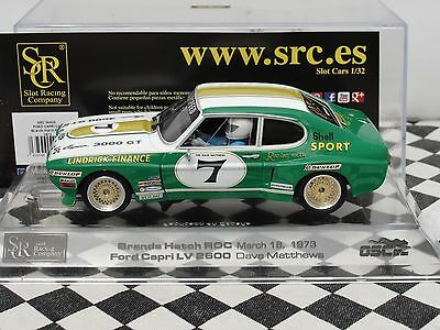 Src Ford Capri Lv  #7   Brands Hatch 1973   Green/white  00406  1:32 Bnib