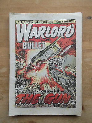 WARLORD and BULLET COMIC No.223 30 DECEMBER 1978 1st BATTALION COLDSTREAM GUARDS