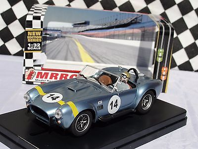 Mrrc Ac Cobra  #14  Metallic Blue  Mc11061  1:32 Slot Bnib