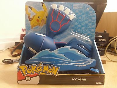 "Genuine Pokemon Kyogre Large 12"" Titan Articulated Legendary Action Figure"