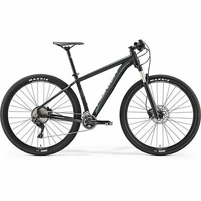 Merida MTB Big.Nine XT-Edition 2017, 21 Zoll, schwarz/grau