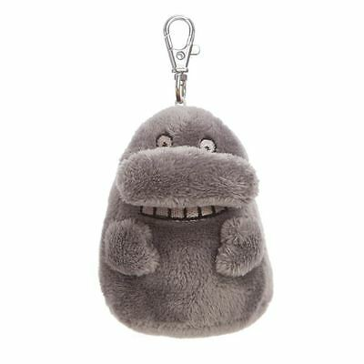 Official Moomins The Groke Character 4 Inch Plush Key Clip - Bag Clip