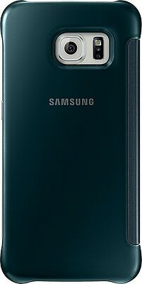 SAMSUNG Bookcover Bookcase Galaxy S6 edge ClearView Cover green
