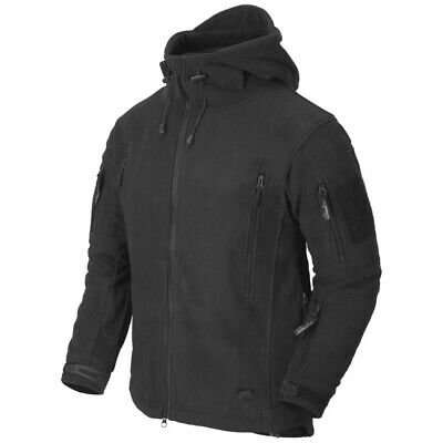 Helikon Tex Patriot Heavy Fleece Jacket Black schwarz Outdoor Jacke