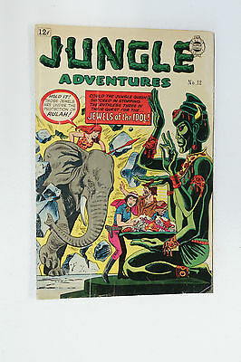 Jungle Adventures #14 Nice Zoot Rulah Super Comics 1964  12 cents golden age
