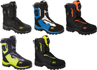 Klim Mens Adrenaline GTX BOA Gore-Tex Insulated Snowmobile Boots