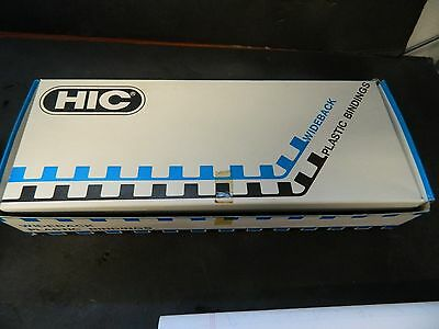Hic Plastic Binding Combs Spines  Pbb38 3/8 Inch Qty 50