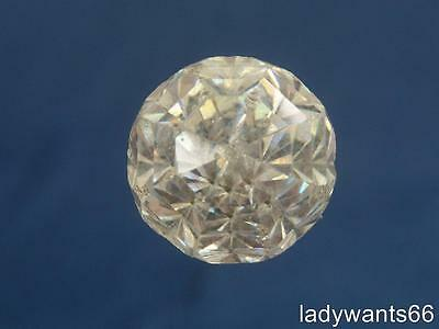 Antique Clear Paste Jewelled Hat Pin Circa 1910