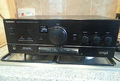 Vintage Technics SU-X302 Stereo Integrated Amplifier. Made in Japan