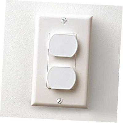 24 PCS Child Safety Electrical Outlet Plugs White, 1.3 x 1.1 Plug -