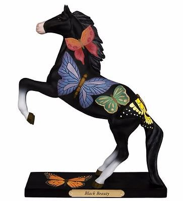 Trail of Painted Ponies Black Beauty Butterfly Pony Horse Figurine 4053785 New