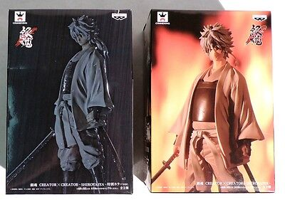 P258. Lot of 2: GINTAMA Creator X Creator SHIROYASHA Figure A & B Banpresto