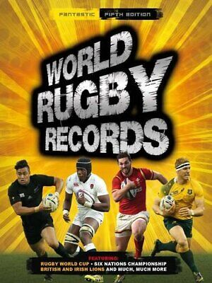 World Rugby Records (World Records) by Chris Hawkes Book The Cheap Fast Free