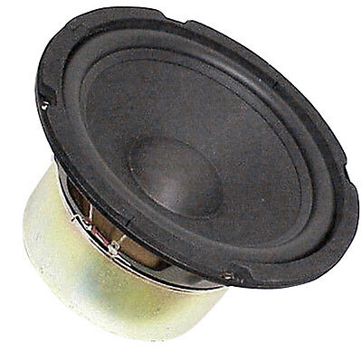 "8"" Subwoofer Woofer Heavy Duty Shielded Magnet Rubber Surround 4Ohm free air OK"
