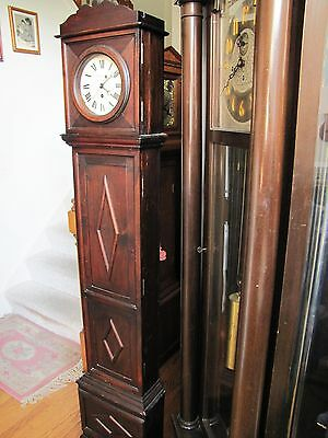 Antique French L Gardes Time-Only Floor-Standing Clock