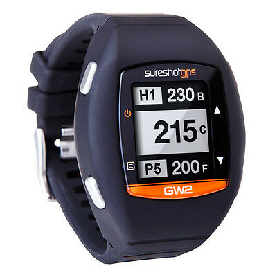 SURESHOT GW2 +Hazards Golf Watch GPS Preloaded with Australian Courses Warranty