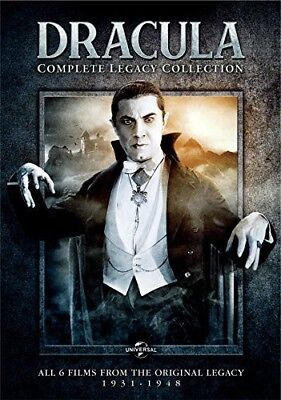 Dracula: Complete Legacy Collection [New DVD] Slipsleeve Packaging, Snap Case,