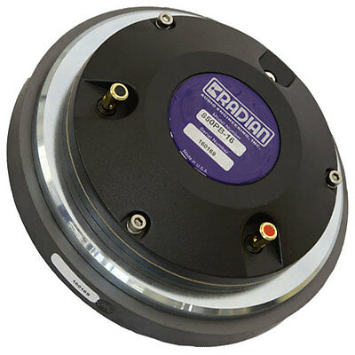 "Radian 850PB 2"" High Frequency Compression Driver Aluminum Diaphragm 8ohm"