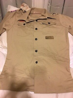 Youth Large Boy Scout Shirt BSA Boy Scouts Of America