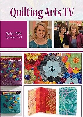Quilting Arts TV Series 1300 with Pokey Bolton DVD [4-Disc Set]