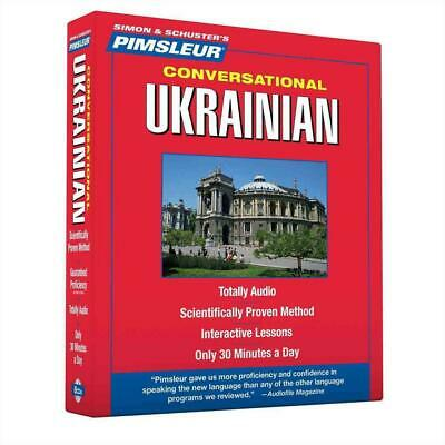 Pimsleur Conversational Ukrainian [With Free Case]: Learn to Speak and Understan