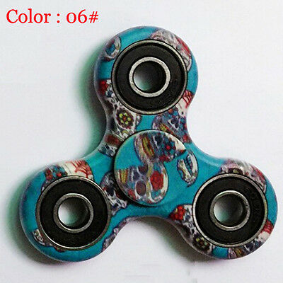 3D Camo Fidget Hand Spinner EDC Focus Toys ADD ADHD anxiety For Kids US STOCK 06
