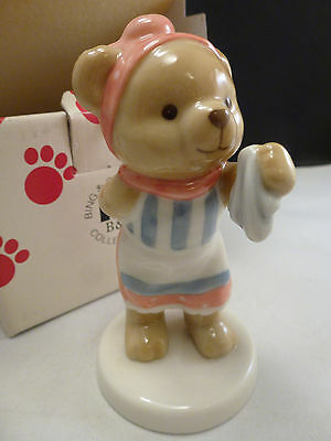 New BING GRONDAHL Teddy Bear Collection VICTORIA'S FAMILY  Figurine 2005 VICTOR