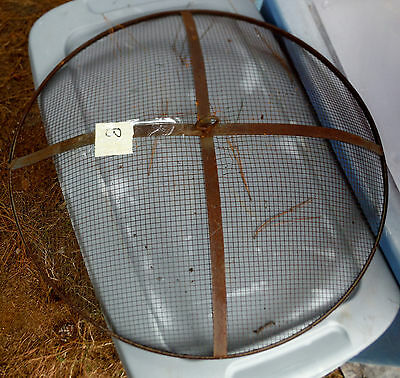 Pick or Choose one....Vintage Fire Pit Top Screen or Lid