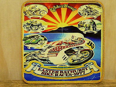 Drink Coaster Set Of 4 -Easter Bike Races Bathurst Mt Panorama  1977