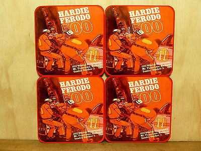 Drink Coaster Set Of 4 - Hardie Ferodo 500 1971 Bathurst