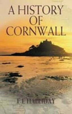 A History of Cornwall, Halliday, F.E. Paperback Book The Cheap Fast Free Post