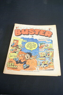 BUSTER Vintage Comic  13th December 1980