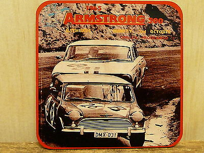 Drink Coaster Set Of 4 - Armstrong 500 Bathurst Mout Panorama 1965
