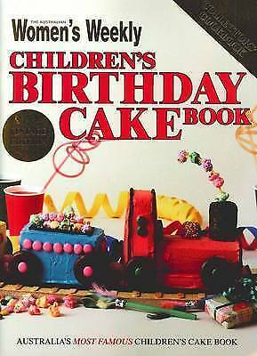 Children's Birthday Cake Book - The Australian Women's weekly VINTAGE