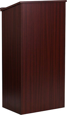 """""""Flash Furniture Mahogany Stand-Up Lectern, Pack of 1 [MT-M8830-LECT-MAH-GG]"""""""