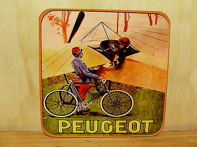 Drink Coaster Set Of 4 - Peugeot Cycles