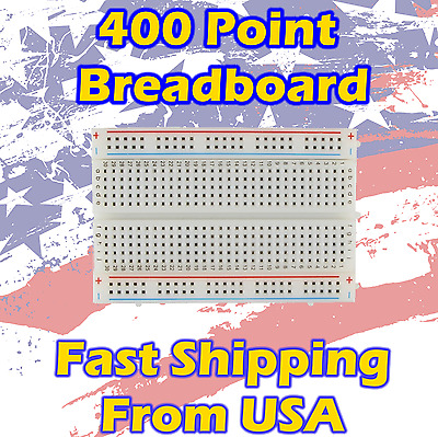 Universal Solderless Breadboard 400 / 830 points / Dupont cable