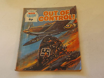WAR PICTURE LIBRARY NO 700!,dated 1971!,GOOD for age,great 46!YEAR OLD issue.