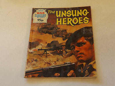 WAR PICTURE LIBRARY NO 1663!,dated 1979!,GOOD for age,great 38!YEAR OLD issue.