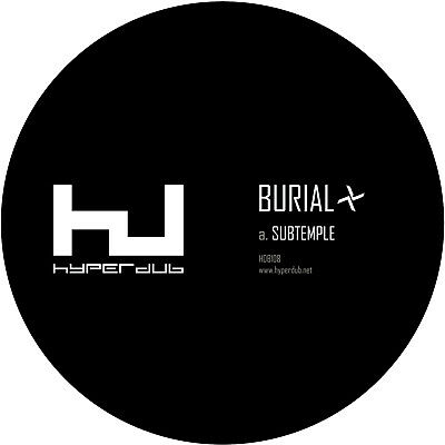 "Burial - Subtemple / Beachfires (NEW 10"" VINYL)"