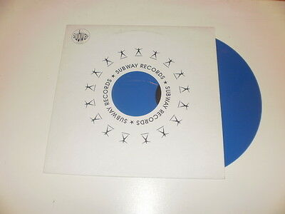 "Lello B. Presents X-Groove '96 - Passion Of Love - 12"" BLUE VINYL SUBWAY RECORDS"